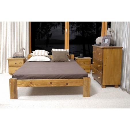 łóżko CELINKA 120x200 dąb
