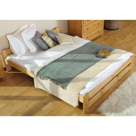 łóżko 120x200 NIWA olcha