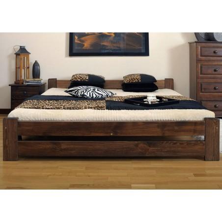 łóżko 160x200 NIWA orzech