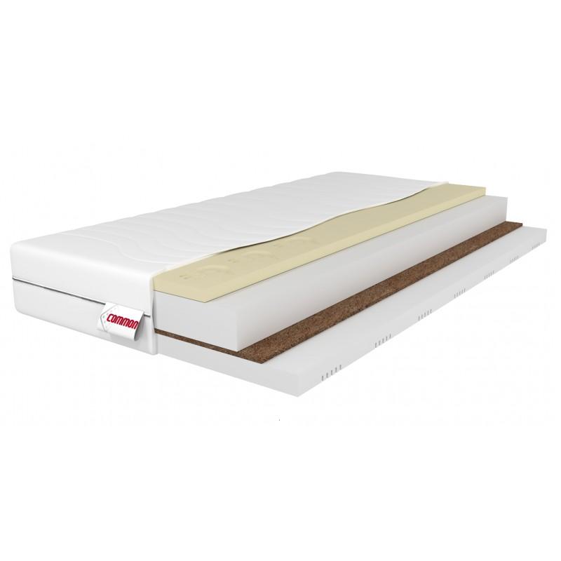 materac piankowy 160x200 CALIO 9stref kokos memory