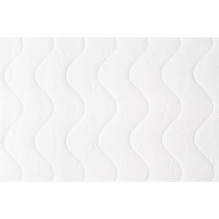 pikowany pokrowiec na materac 140x200