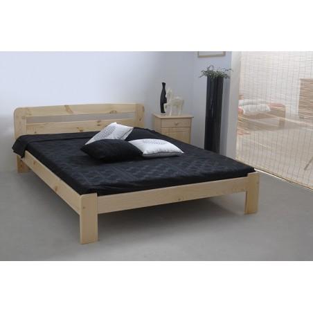 łóżko drewniane ze stelażem SARA sosna