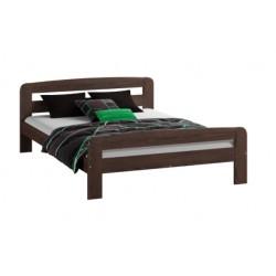 łóżko 90x200 KLAUDIA orzech