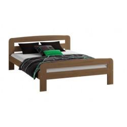 łóżko KLAUDIA 140x200 dąb