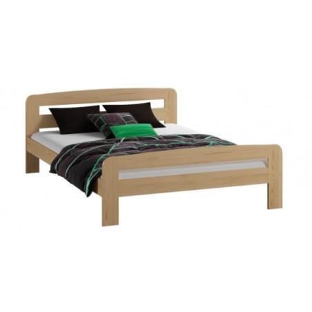 łóżko KLAUDIA 140x200 sosna