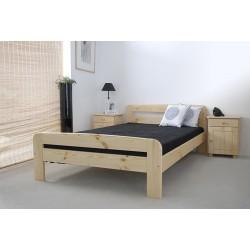 łóżko drewniane ze stelażem klaudia SOSNA