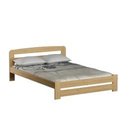 łóżko drewniane ze stelażem LIDIA sosna
