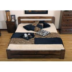 łóżko 90x200 LIDIA orzech