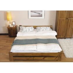 łóżko drewniane ze stelażem NIWA dąb