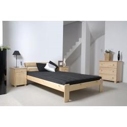 łóżko SARA 140x200 SOSNA