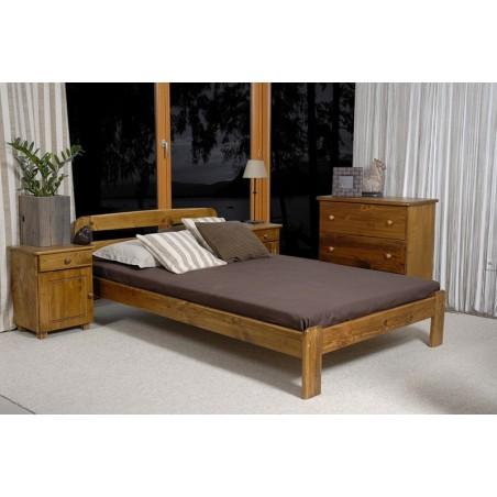 łóżko  SARA 120x200 dąb