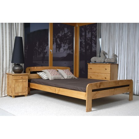 łóżko KLAUDIA 140x200 olcha