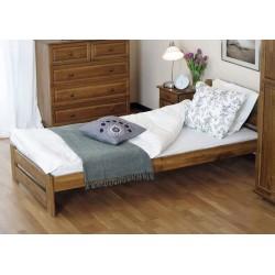 łóżko drewniane ze stelażem LIDIA dąb