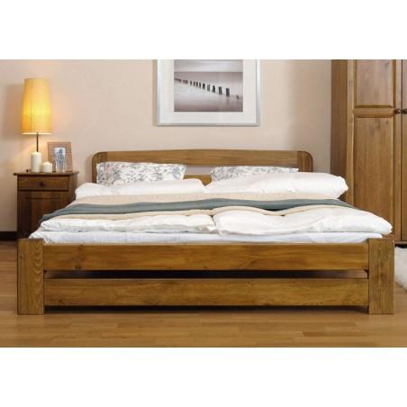 łóżko LIDIA 140x200 dąb
